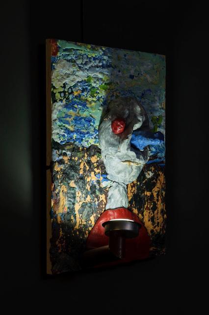 Gelitin, 'Untitled', 2012, Plastilline, LED, wood, Perrotin