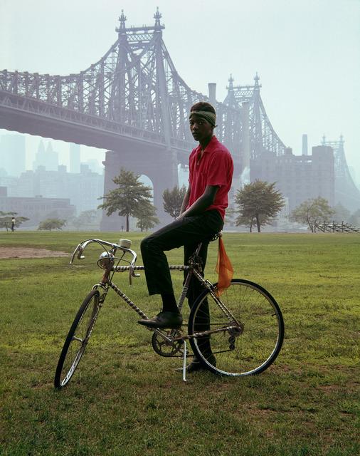 Evelyn Hofer, 'Queensboro Bridge, New York', 1964, Photography, Dye Transfer Print, Danziger Gallery
