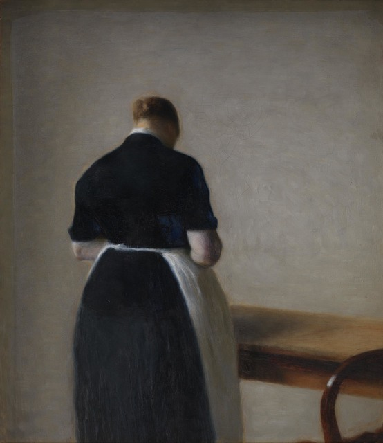 , 'Woman Seen from the Back,' 1888, Frye Art Museum