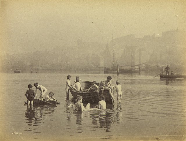 Frank Meadow Sutcliffe, 'Album with 64 photographs documenting Whitby, England, including the harbor and its occupants', Circa 1887, Swann Auction Galleries