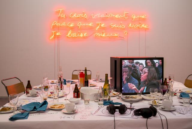 Valérie Oka, 'En sa présence', 2014, Installation, Including performance, WIELS