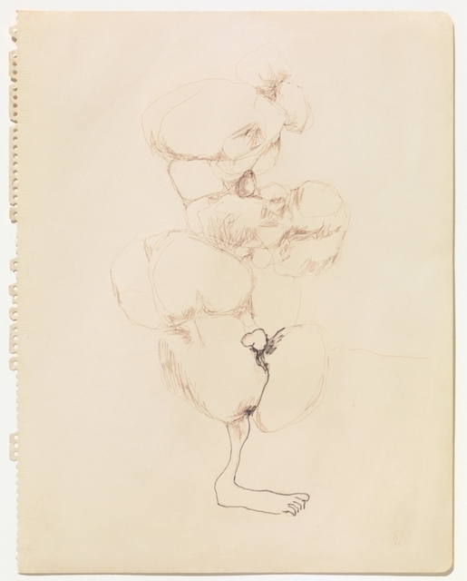 , 'Sketch of Growths on a Leg 1,' 1970, Galerie Isabella Czarnowska