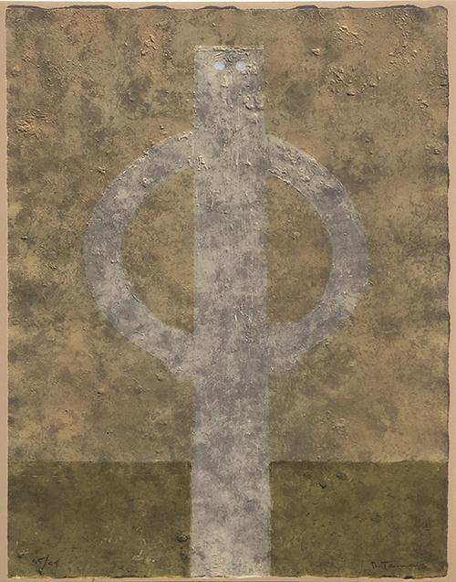 Rufino Tamayo, 'Figura en Jarras (P. 274)', 1980, Vanessa Villegas Art Advisory