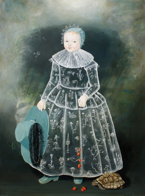 Anne Siems, 'Girl with Turtle', 2016, Patricia Rovzar Gallery