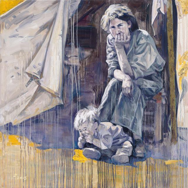 Hung Liu, 'Camp II', 2015, Turner Carroll Gallery