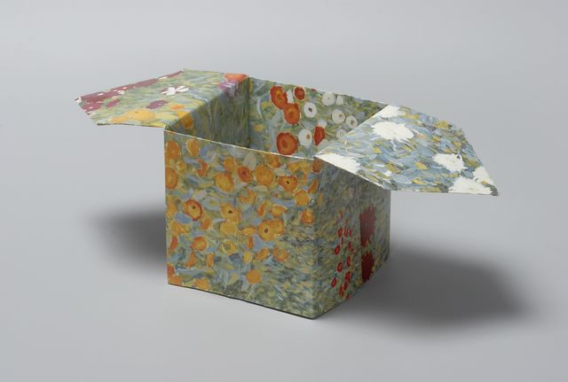 Pierre Bismuth, 'Origami boxes: one thing made of another, one thing used as another (Claude Monet)', 2004, Christine König Galerie