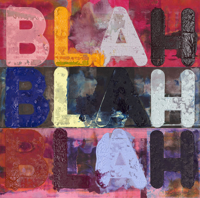 Mel Bochner, 'Blah, Blah, Blah', 2018, Carolina Nitsch Contemporary Art