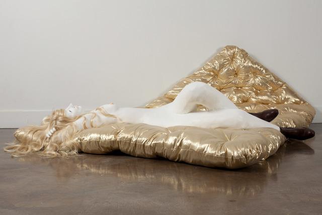 , 'Platinum Musing I,' 2011, Jack Hanley Gallery