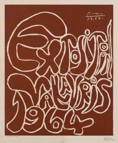 Pablo Picasso, 'Exposition Vallauris [BLOCH 1301]', 1964, Roseberys