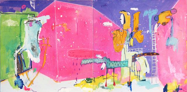 , 'Diptico 2,' 2016, Allouche Gallery