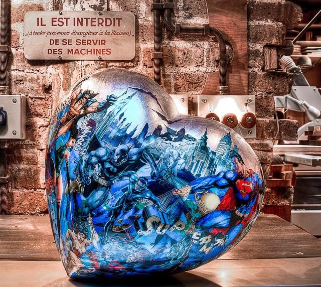 , 'Coers Bleu Argent Comix,' 2015, European Design & Art