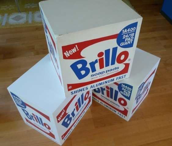 Andy Warhol, 'Brillo Soap Pads Box 1968/1990 Malmö Type', 1968/1990, MultiplesInc Projects