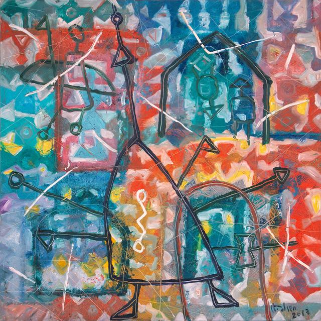 , 'Delta ,' 2013, Galerie Dumonteil