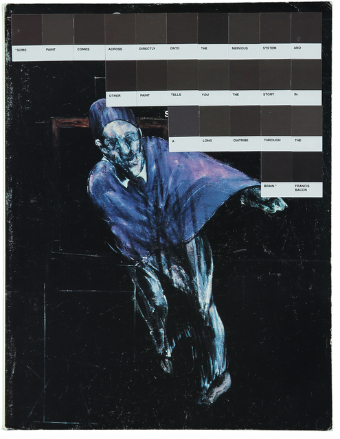 , 'Francis Bacon, Art&Auction 1990,' 2017, Rhodes