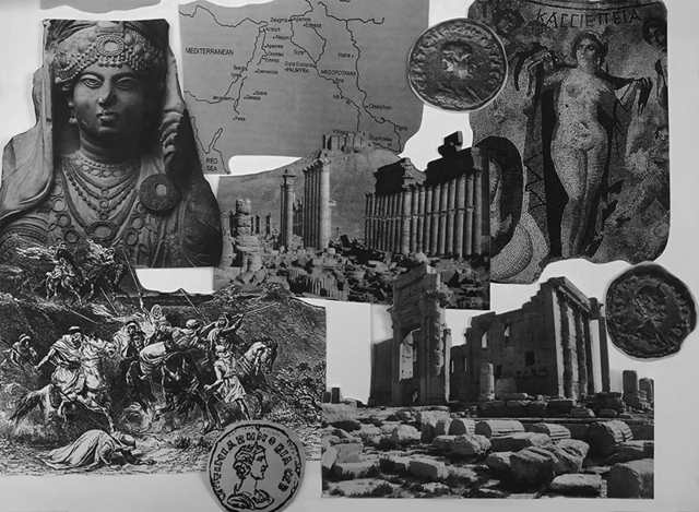 , 'Zenobia at Palmyra (from the History and Culture series),' 2017, Artscoops