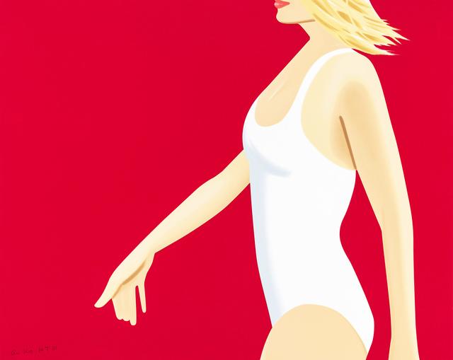 Alex Katz, 'Coca-Cola Girl 1', 2019, Hamilton-Selway Fine Art