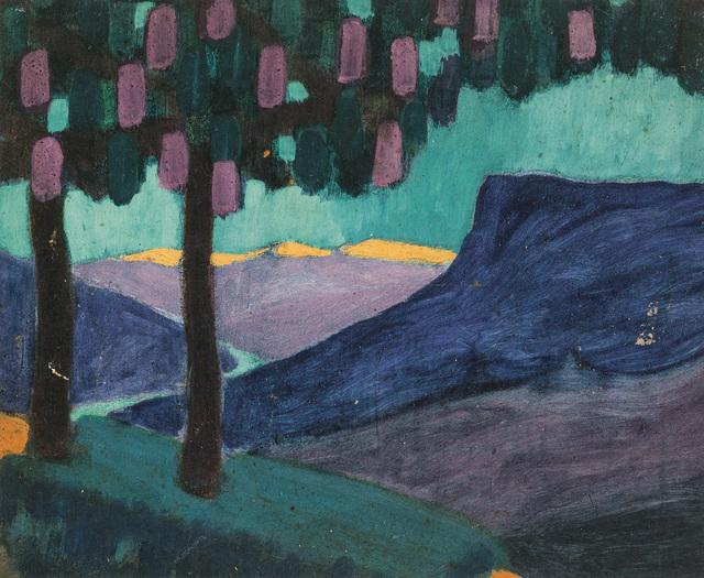 Theodor Prachensky, 'South Tyrolean landscape', 1914, Galerie Kovacek