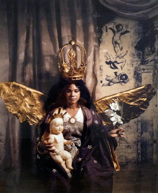 , 'Virgin del Quinto Sello y el Nino (Madonna and Child),' 1989, MIYAKO YOSHINAGA