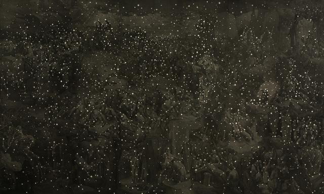 Matthew Cusick, 'Back in Black', 2008, Pavel Zoubok Fine Art