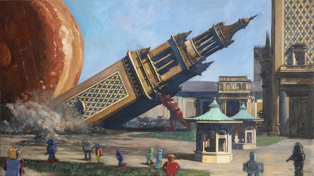 , 'On A Roll,' , Corey Helford Gallery