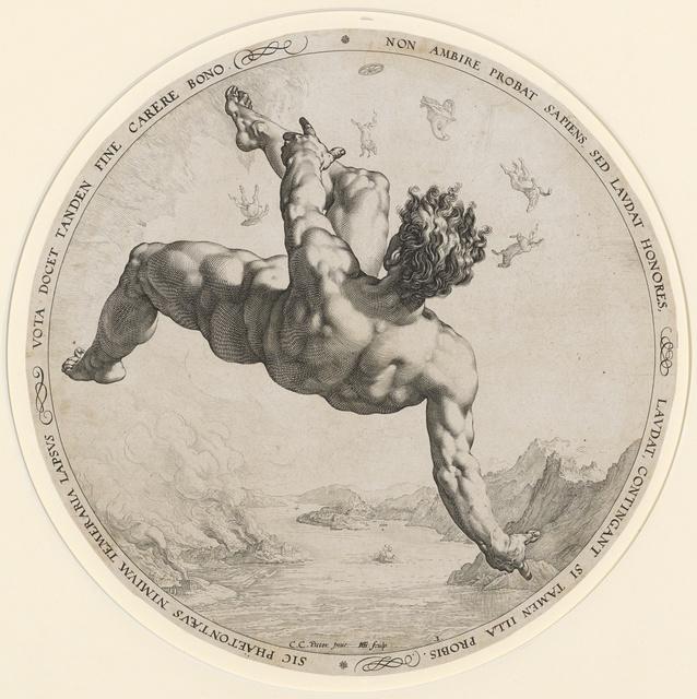 , 'Phaeton,' 1588, Kunstmuseum Basel