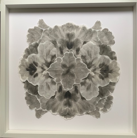 Allison Svoboda, 'Mandala Flora 2', 2010-2015, Drawing, Collage or other Work on Paper, Sumi-e ink on Mulberry paper, Olson Larsen Gallery