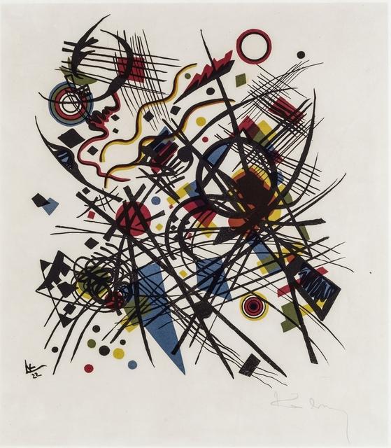 , 'Komposition,' 1922, Galerie Thomas