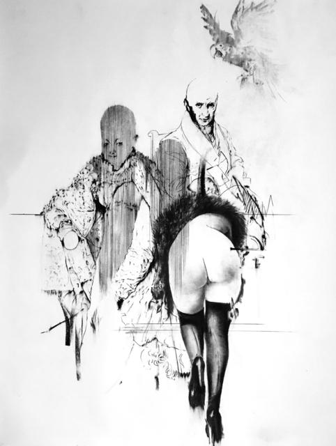, 'Tableaux Vivant III. (Prince Pierre, J.C. et Madame K.),' 2017, MLF | MARIE-LAURE FLEISCH
