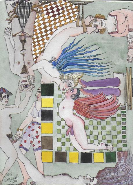 , 'Entre Comillas No 009,' 2002, LAMB Arts