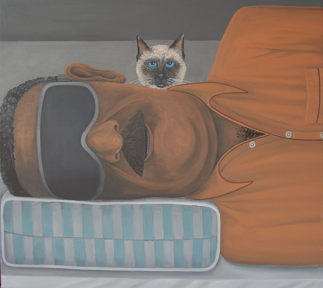 Brian Cirmo, 'It's Wake Up Time', 2019, Painting, Oil on Canvas, 532 Gallery Thomas Jaeckel