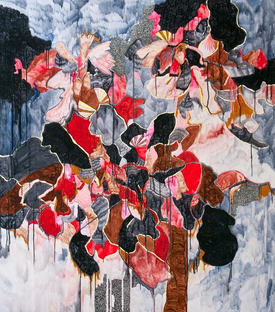 , 'patience I - the storm,' 2015, sommer.frische.kunst