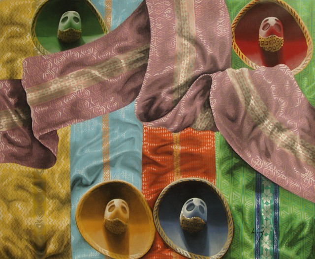 , 'Sombreros 2,' 2014, Ruiz-Healy Art