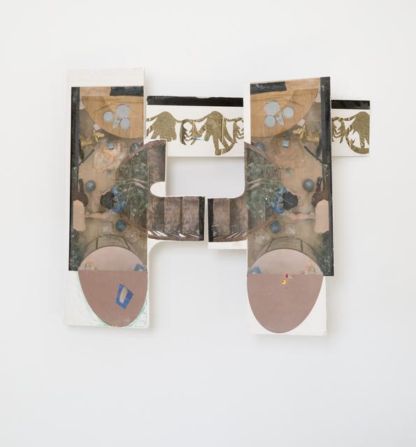 , 'Configuration C,' 2017, Klowden Mann
