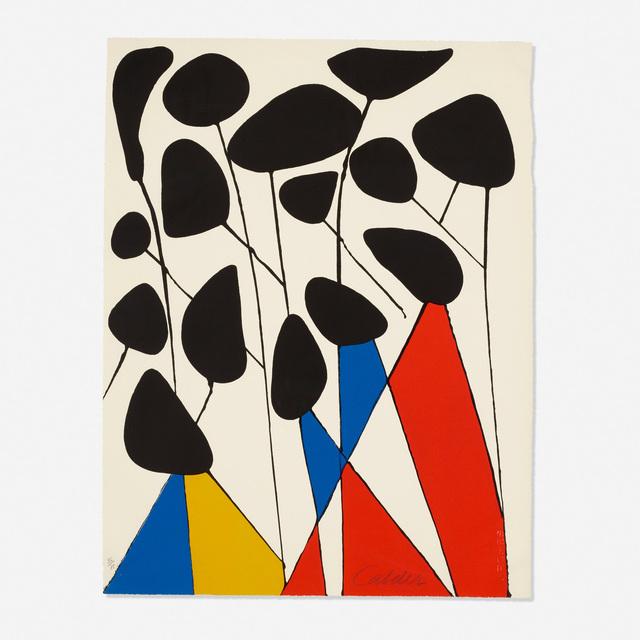 Alexander Calder, 'Untitled (from the Calder, Magie Eolienne portfolio)', 1972, Rago/Wright