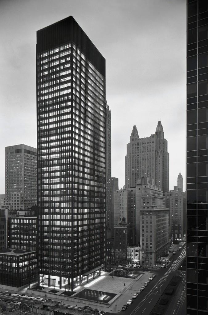 Ezra Stoller, 'Seagram Building, Mies van der Rohe with Philip Johnson, New York, NY,' 1958, Yossi Milo Gallery