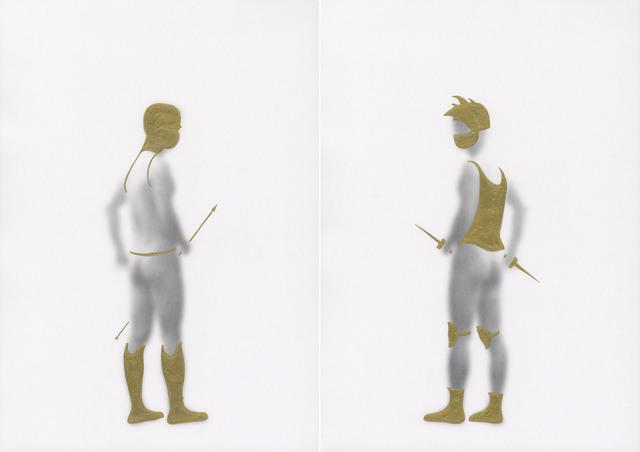 , 'Armour,' 2013, SinArts Gallery