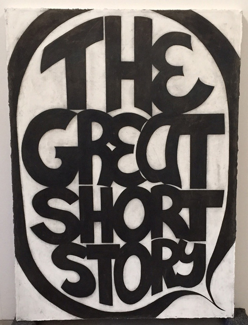 , 'The Great Short Story,' 2008, William Shearburn Gallery