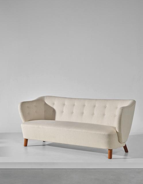 Edvard and Tove Kindt-Larsen, 'Sofa', 1938, Design/Decorative Art, Cuban mahogany, fabric, Phillips