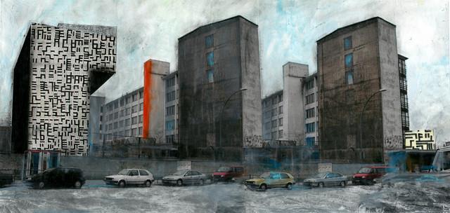 , 'Contaminations #1 - Berlin Mitte,' 2014, Burning Giraffe Art Gallery