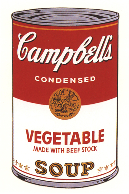 Andy Warhol, 'Campbell's Soup I: Vegetable', 1968, Drawing, Collage or other Work on Paper, Screenprint on paper, Andipa