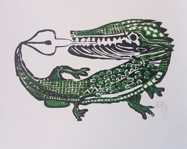, 'Alligator Nibs ,' 2001, The Good Luck Gallery