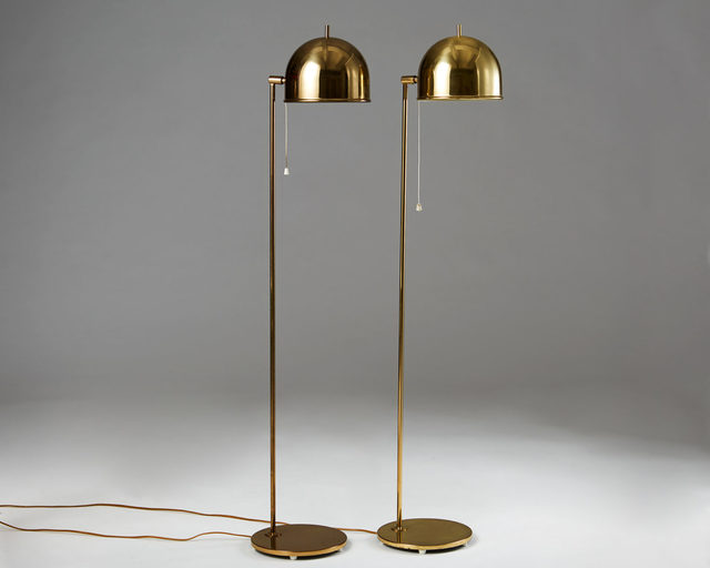 , 'Pair of floor lamps,' 1960-1969, Modernity