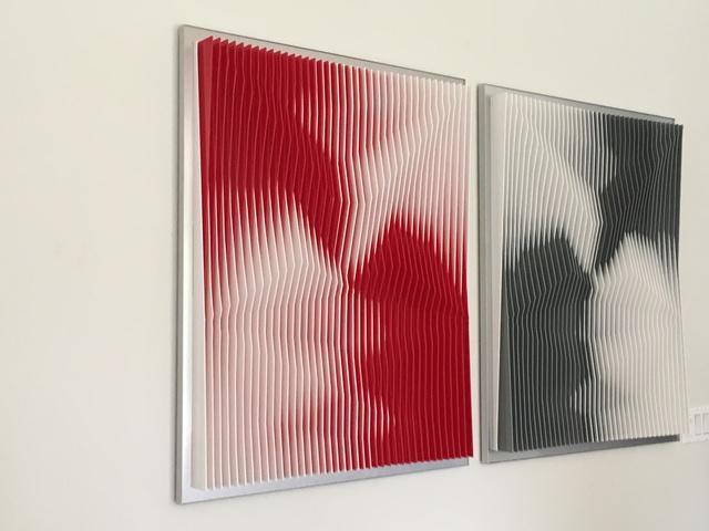, 'Dynamic Undulation Diptych,' 2017, Ai Bo Gallery