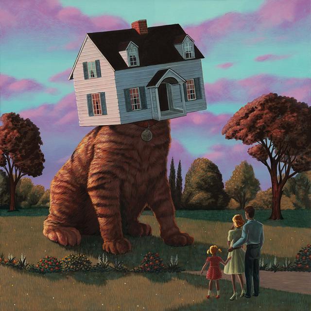 , 'House Cat,' 2017, Spoke Art