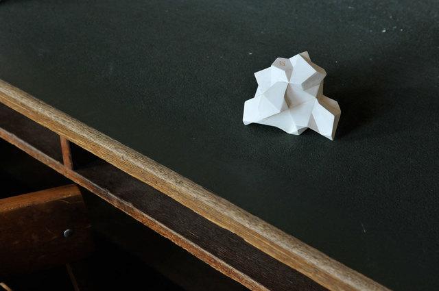, 'Schönflies, pavage d'espace n°327 (2) (Mathematisches Institut, Göttingen),' 2014, Michel Rein Paris/Brussels