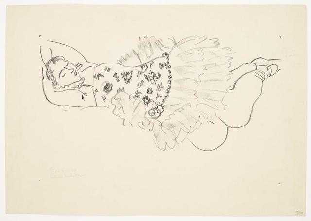 , 'Danseuse endormie,' 1926, Galerie Maximillian