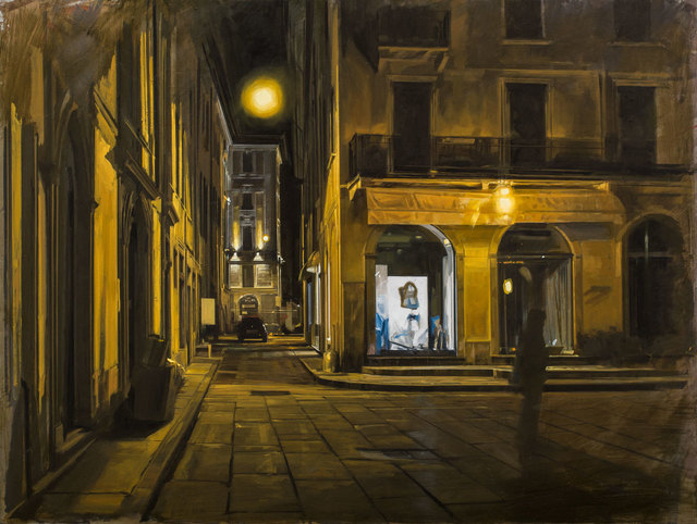 Nicola Nannini, 'Notte gialla N.2', 2019, Galleria Punto Sull'Arte