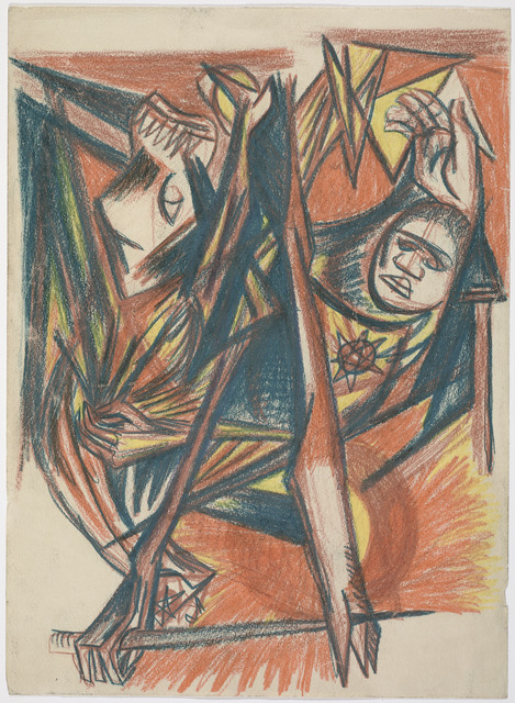 , 'Untitled (Psychoanalytic Drawing, Number 4),' 1939-1940, Museum of Fine Arts, Boston
