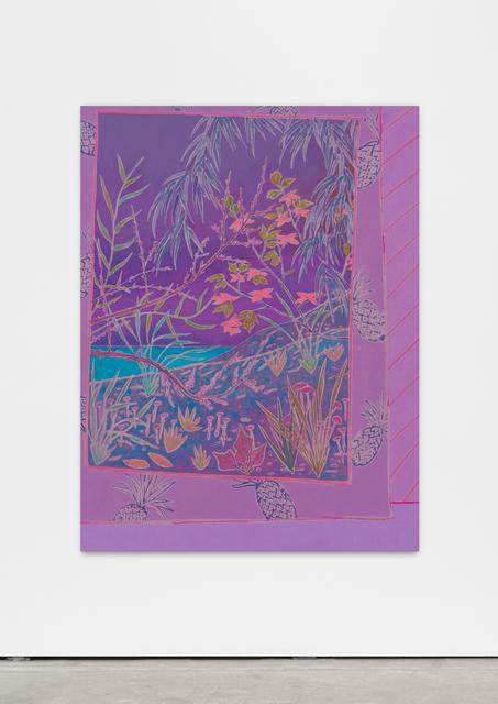 , 'sea shines softly,' 2016, Wentrup