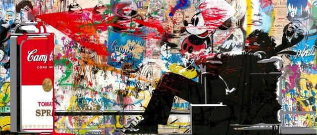 Mr. Brainwash, 'Maxspray', 2018, Taglialatella Galleries